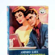 Cómics: COLECCIÓN MADREPERLA 243. EL MEJOR RECUERDO (AMPARO LARA) 1953. CON DEDICATORIA. Lote 194707712