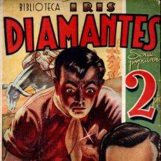 Cómics: PATRIC GREENE . DIAMANTES (IRIS BRUGUERA, C. 1940). Lote 195309297