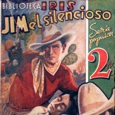 Cómics: JORGE G. HENDERSON . JIM EL SILENCIOSO (IRIS BRUGUERA, C. 1940). Lote 195309878