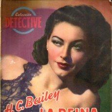 Cómics: H. C. BAILEY . LA REINA DE ESPADAS (DETECTIVE BRUGUERA, C. 1940). Lote 195310213