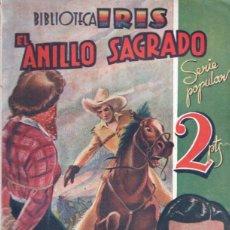 Cómics: SEAN O'LARRIN . EL ANILLO SAGRADO (IRIS BRUGUERA, C. 1940). Lote 195310620