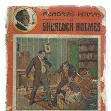 Comics : MEMORIAS INTIMAS DE SHERLOCK HOLMES: LA MALETA SANGRIENTA, GRANADA Y CIA, USADA. COLECCIÓN A.T.. Lote 195379382