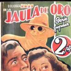 Cómics: RAY CUMMINGS . JAULA DE ORO (IRIS BRUGUERA, C. 1940). Lote 195810771