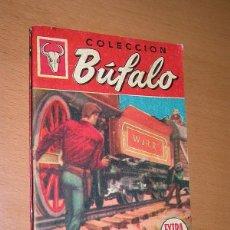 Cómics: HORDAS BLANCAS. DONALD CURTIS. BÚFALO EXTRA ILUSTRADA Nº 102. BRUGUERA, 1958. BADÍA. +++. Lote 196145137