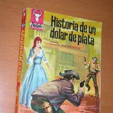 Comics: HISTORIA DE UN DOLAR DE PLATA. M. LAFUENTE ESTEFANIA. BÚFALO Nº 513. BRUGUERA, 1963. . Lote 196329107