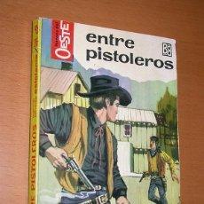 Comics: ENTRE PISTOLEROS. M. LAFUENTE ESTEFANIA. HÉROES DEL OESTE Nº 287. BRUGUERA, 1964. +++. Lote 196331842