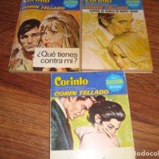 Fumetti: LOTE DE 3 NOVELAS CORINTO . 632-625-626. CORIN TELLADO. Lote 196485573