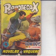 Comics : NOVELA COLECCION BIBLIOTECA X Nº 96. Lote 197658000