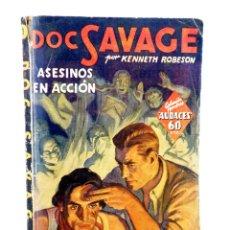 Comics : HOMBRES AUDACES: DOC SAVAGE 3. ASESINOS EN ACCIÓN (KENNETH ROBESON) MOLINO, 1936. Lote 198230510