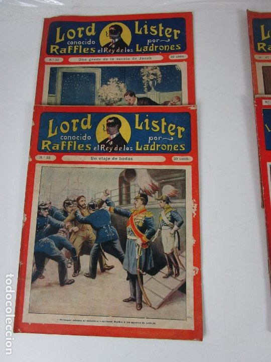 Cómics: Lote Comics - Lord Lister, Raffles el Rey de los Ladrones - nº 9, 25, 38, 43, 47, 53, 55 - Foto 2 - 198289283