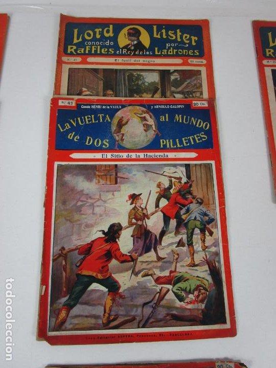 Cómics: Lote Comics - Lord Lister, Raffles el Rey de los Ladrones - nº 9, 25, 38, 43, 47, 53, 55 - Foto 3 - 198289283