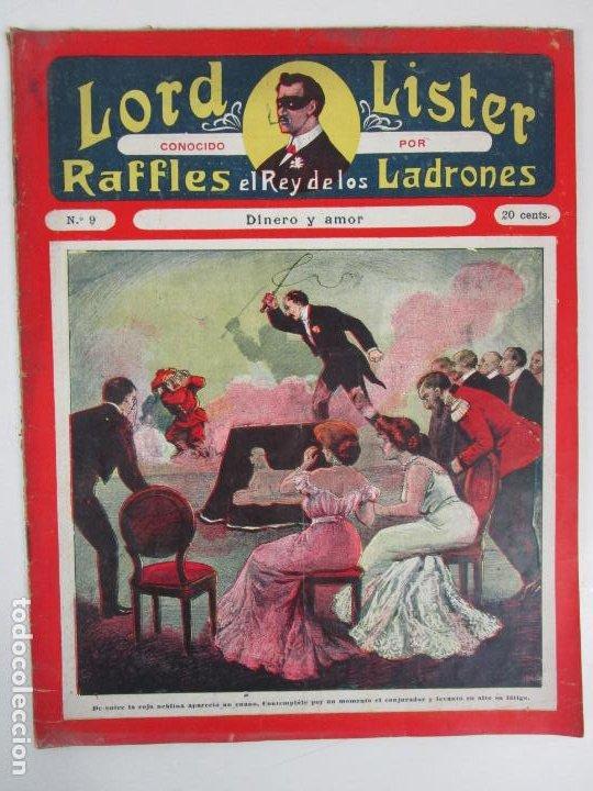 Cómics: Lote Comics - Lord Lister, Raffles el Rey de los Ladrones - nº 9, 25, 38, 43, 47, 53, 55 - Foto 4 - 198289283