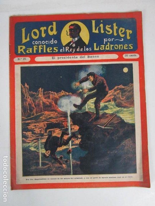 Cómics: Lote Comics - Lord Lister, Raffles el Rey de los Ladrones - nº 9, 25, 38, 43, 47, 53, 55 - Foto 6 - 198289283