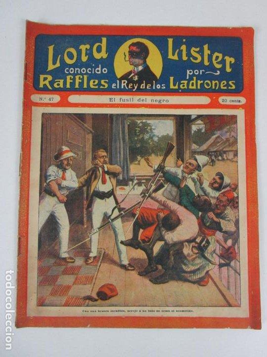 Cómics: Lote Comics - Lord Lister, Raffles el Rey de los Ladrones - nº 9, 25, 38, 43, 47, 53, 55 - Foto 10 - 198289283