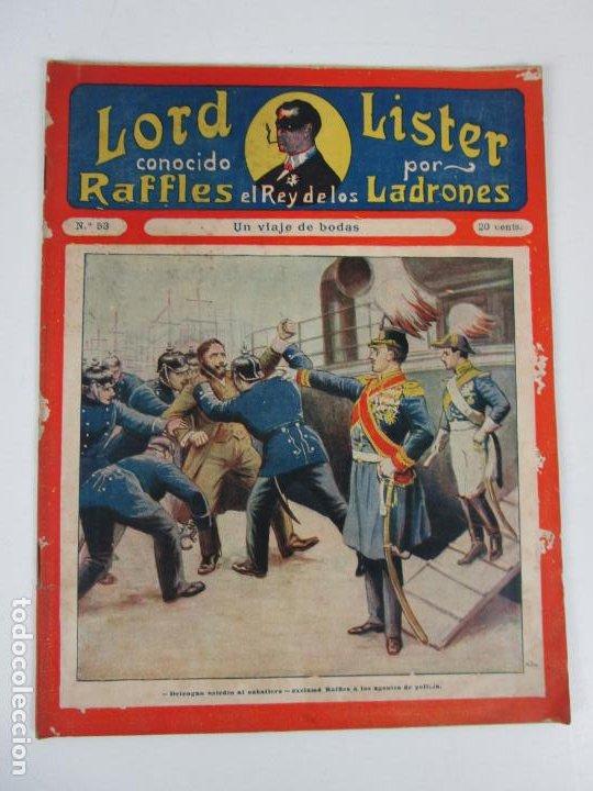 Cómics: Lote Comics - Lord Lister, Raffles el Rey de los Ladrones - nº 9, 25, 38, 43, 47, 53, 55 - Foto 11 - 198289283