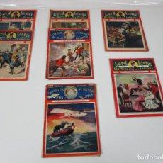 Cómics: LOTE COMICS - LORD LISTER, RAFFLES EL REY DE LOS LADRONES - Nº 9, 25, 38, 43, 47, 53, 55. Lote 198289283