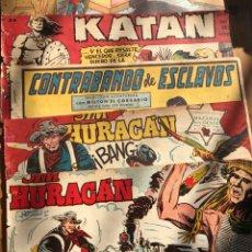 Cómics: OCHO CÓMICS ANTIGUOS UNOS DE CADA COSACO VERDE, KATAN, OLIMAN, SIMBA-KAN ETC.... Lote 198383937