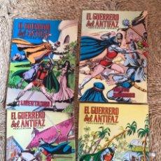 Cómics: EL GUERRERO DEL ANTIFAZ OCHO EJEMPLARES EDITADO EN 1975. Lote 198417575