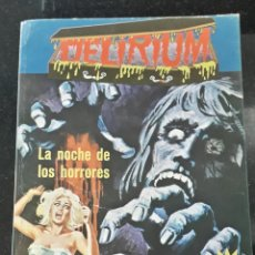 Cómics: COMIC EROTICO TERROR ELVIBERIA: DELIRIUM 7 LA NOCHE DE LOS HORRORES . Lote 198469542