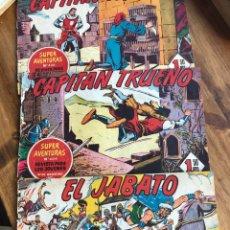 Cómics: CAPITÁN TRUENO Y JABATO TRES NÚMEROS. Lote 198624637