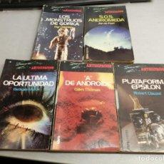 Cómics: COLECCIÓN ANTICIPACIÓN / LOTE DE 5 NOVELAS / LIBROEXPRESS 1978. Lote 57614457