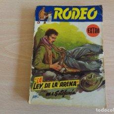Comics : COLECCIÓN RODEO EXTRA Nº 110. M. L. ESTEFANÍA. LA LEY DE LA ARENA. EDITORIAL CIES. Lote 199664606