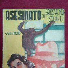 Cómics: AVENTURAS POLICIACAS-N.73--ASESINATO EN GROSVENOR SQUARE-1942-MARISAL. Lote 202258065