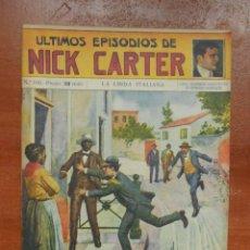 Cómics: ULTIMOS EPISODIOS DE NICK CARTER - Nº 100 - EDITORIAL SOPENA - AÑOS 20 - 30. Lote 204023413