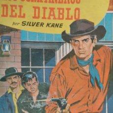 Comics : BISONTE Nº 642. LOS COMPAÑEROS DE DIABLO. SILVER KANE. BRUGUERA 1960. Lote 204531835