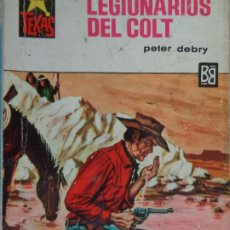 Comics : COLECCIÓN SALVAJE TEXAS Nº 614. LEGIONARIOS DEL COLT. PETER DEBRY. BRUGUERA 1968. Lote 204532640