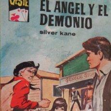 Comics : ASES DEL OESTE Nº 147. EL ÁNGEL Y EL DEMONIO. SILVER KANE. BRUGUERA 1962. Lote 204532860