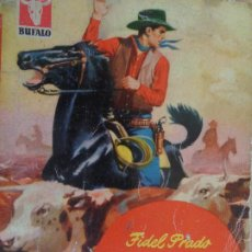 Comics : BUFALO Nº 65. JUBB EL ROJO. FIDEL PRADO. BRUGUERA 1955. Lote 204548502