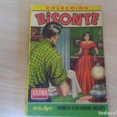 Comics : COLECCIÓN BISONTE EXTRA ILUSTRADA Nº 164. PROMESA A UN HOMBRE MUERTO. BRUGUERA. Lote 204788051