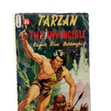 Comics : TARZAN THE INVINCIBLE (EDGAR RICE BURROUGHS) PINNACLE, 1958. Lote 205023048