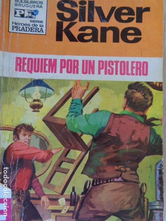 HEROES DE LA PRADERA Nº 63. REQUIEM POR UN PISTOLERO. SILVER KANE. BRUGUERA 1971 (Tebeos, Comics y Pulp - Pulp)