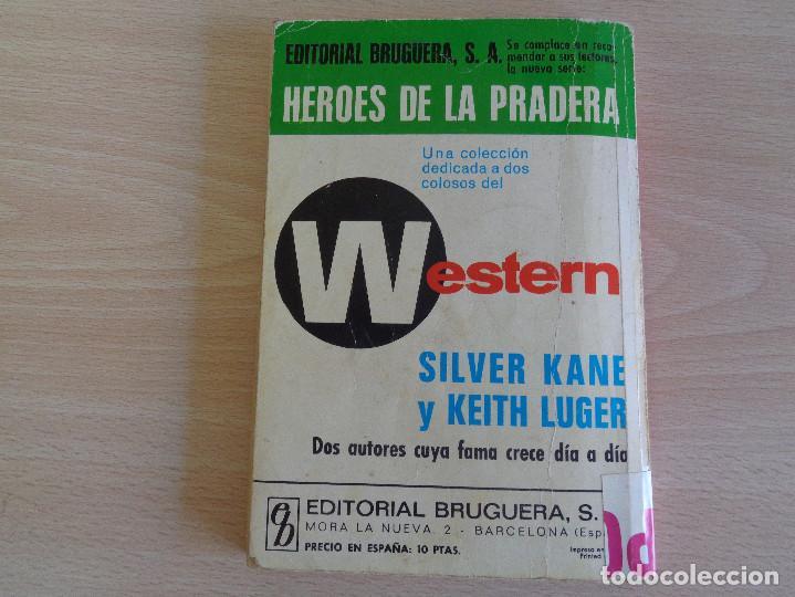 Cómics: Heroes de la Pradera Nº 63. Requiem por un pistolero. Silver Kane. Bruguera 1971 - Foto 2 - 205173088