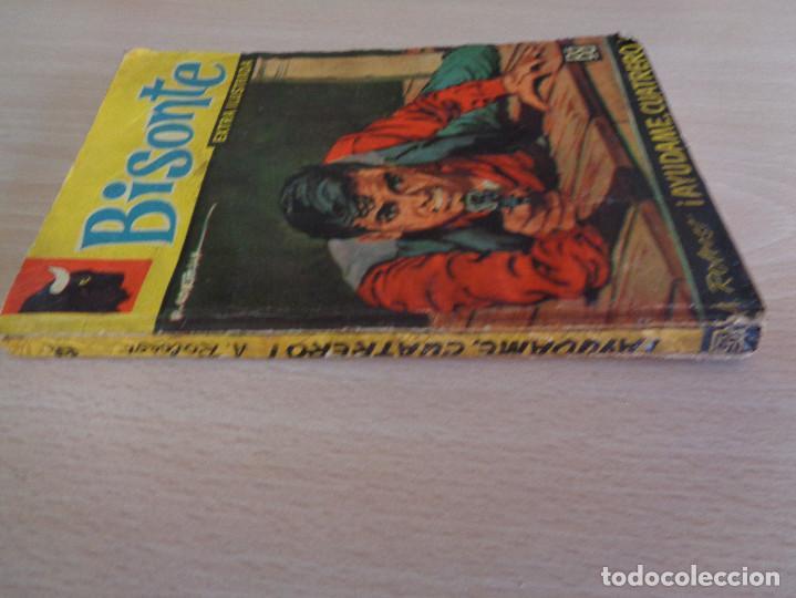 Cómics: Bisonte Extra Ilustrada Nº 357. Ayúdame, cuatrero. A. Rolcest. Bruguera 1962 - Foto 3 - 205279471