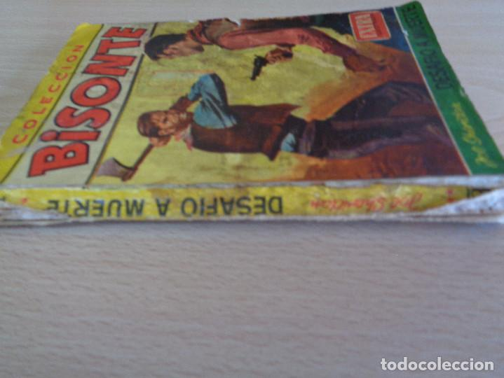 Cómics: Bisonte Extra Ilustrada Nº 342. Desafío a muerte. Joe Sheridan. Bruguera 1962 - Foto 3 - 205279985