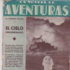 Cómics: EL CIELO ENVENENADO - A. CONAN DOYLE - AÑOS 20. Lote 205653220