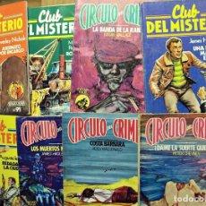 Cómics: CÍRCULO DEL CRIMEN - LOTE DIEZ EJEMPLARES. Lote 205656060