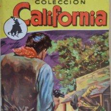 Cómics: CALIFORNIA Nº 96. TODO SE PAGA. MARCIAL LAFUENTE ESTEFANÍA. BRUGUERA 1958. Lote 206487138