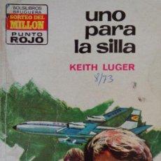 Cómics: PUNTO ROJO Nº 592. UNA PARA LA SILLA. KEITH LUGER. BRUGUERA 1973. Lote 207116117