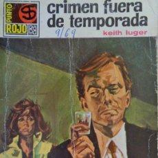 Cómics: PUNTO ROJO Nº 386. CRIMEN FUERA DE TEMPORADA. KEITH LUGER. BRUGUERA 1969. Lote 207118108