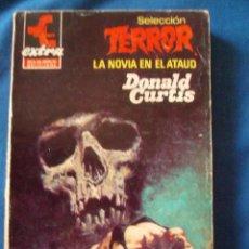 Cómics: LA NOVIA EN EL ATAUD DONALD CURTIS BOLSILIBROS TERROR EXTRA Nº 1 BRUGUERA. Lote 207190173