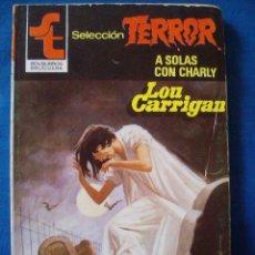 Cómics: A SOLAS CON CHARLY LOU CARRIGAN BOLSILIBROS TERROR Nº 478 BRUGUERA. Lote 207190442