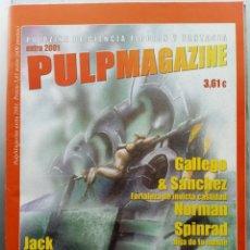 Cómics: PULPMAGAZINE EXTRA 2001. INCLUYE A LA CAMA TERRICOLA. Lote 207191167
