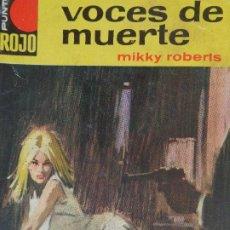 Cómics: PUNTO ROJO Nº 36. VOCES DE MUERTE. MIKKY ROBERTS. BRUGUERA 1964. Lote 207204512