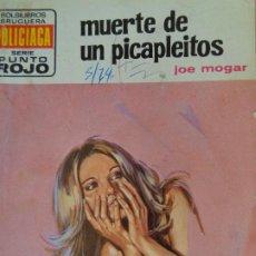 Cómics: PUNTO ROJO Nº 628.MUERTE DE UN PICAPLEITOS. JOE MOGAR. BRUGUERA 1974. Lote 207204885