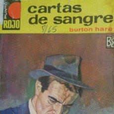 Cómics: PUNTO ROJO Nº 174. CARTAS DE SANGRE. BURTON HARE. BRUGUERA 1965. Lote 207205330