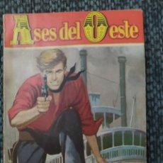 """Cómics: NOVELAS DEL OESTE COLECCION ASES DEL OESTE Nº 40 """"MALA ESTRELLA"""", JIM DE SILVER KANE. Lote 207291347"""